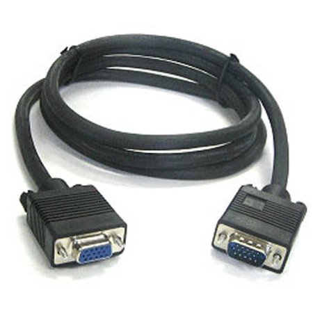 3 Ft SVGA VGA Monitor Extension Cable M/F - Male to Female 3