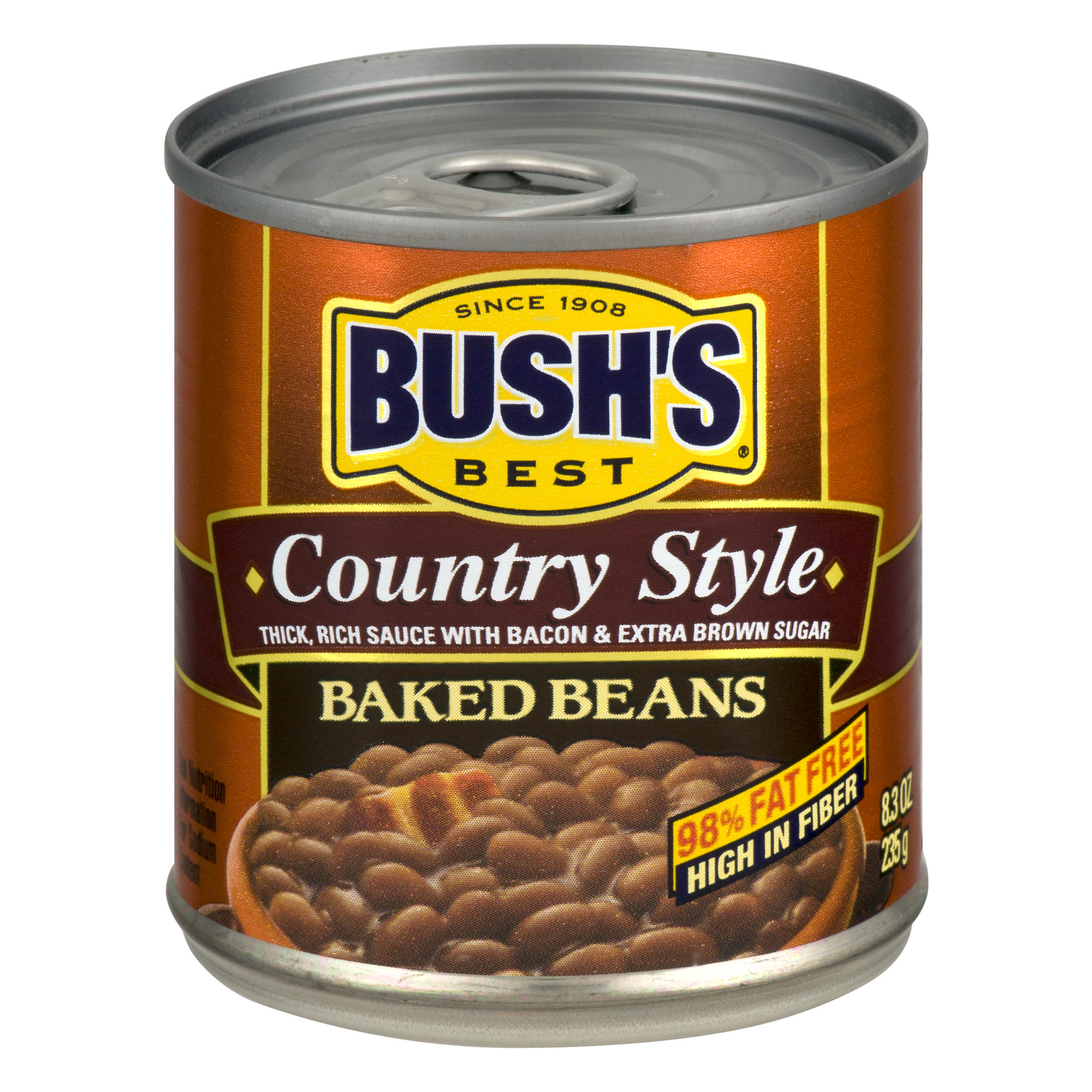 BUSH'S BEST Baked Beans Country Style, 8.3 OZ