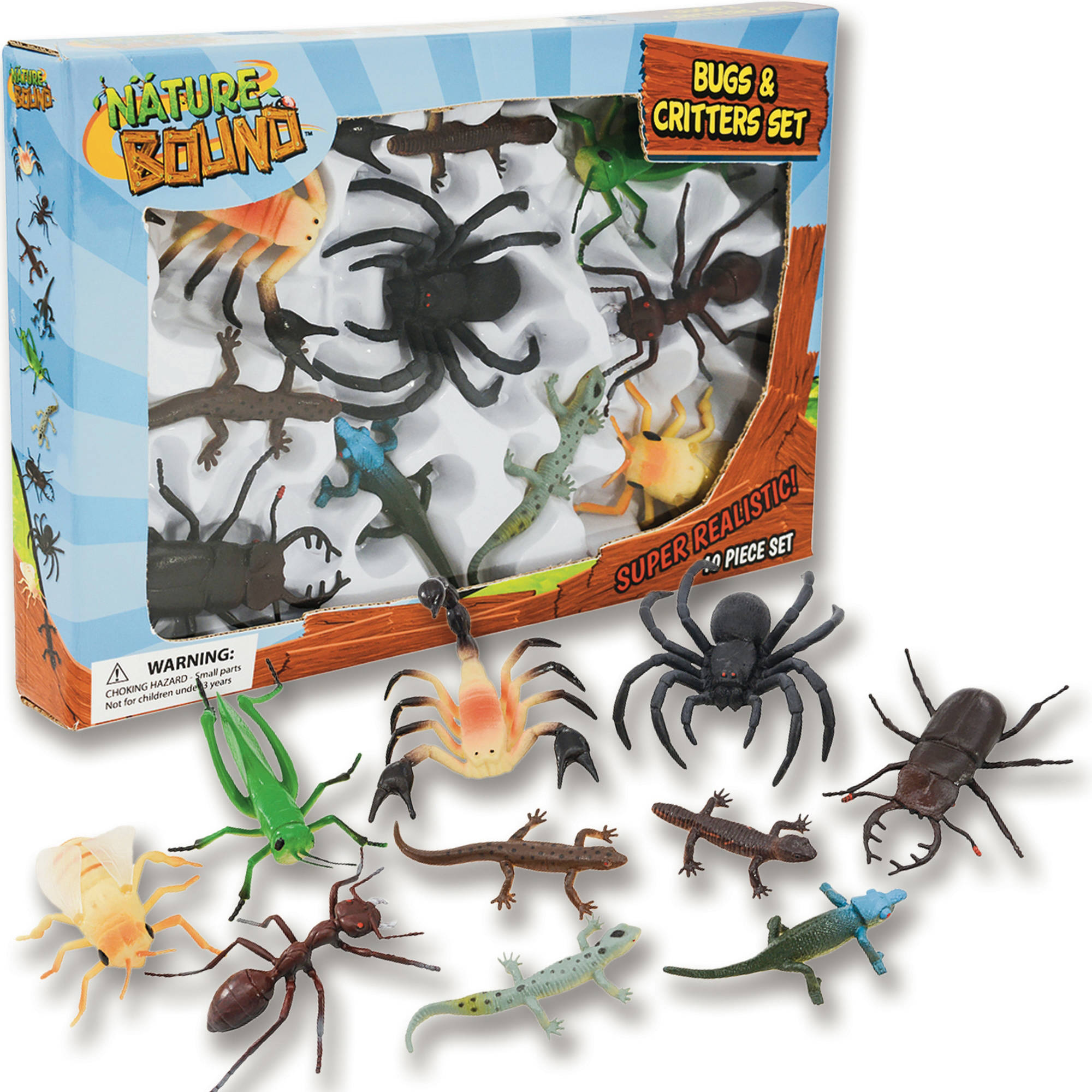 Nature Bound Bug and Critter Set, 10pc
