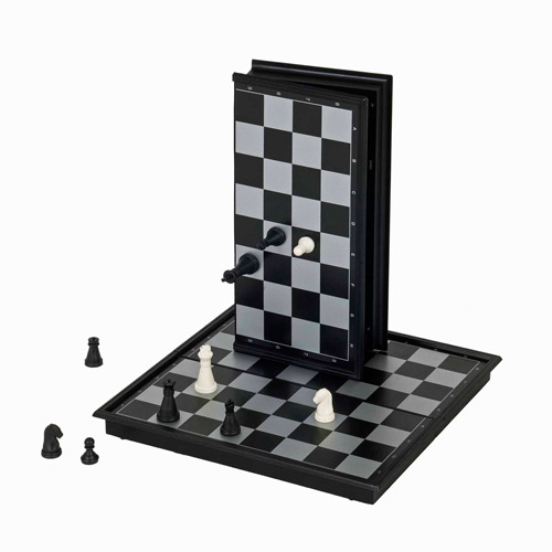 Magnetic Chess Set, Small Travel Size