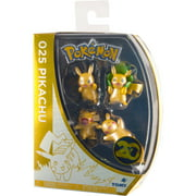 Pokemon 20th Anniversary Pikachu Figure 4 Pack