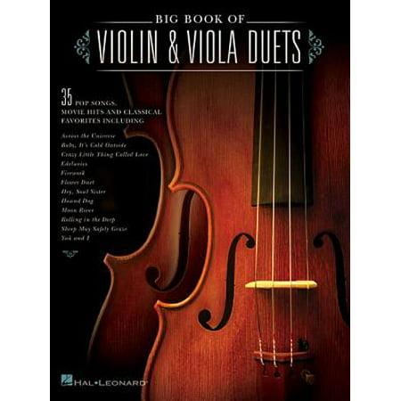 Big Book of Violin & Viola Duets