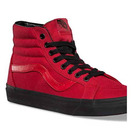 e67d8d3e39 Vans VN-0A2XSBLW0 : Men's Black Outsole SK8 HI Reissue Racing Red/Black  Sneakers (5.5 D(M) US)