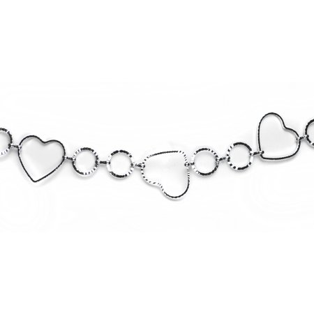 Modish Hollow Heart Belly Chain