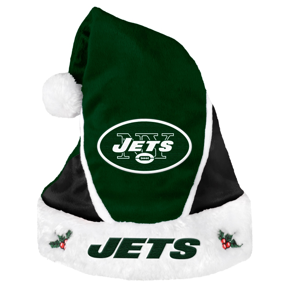 New York Jets 2014 NFL Color Block Santa Hat