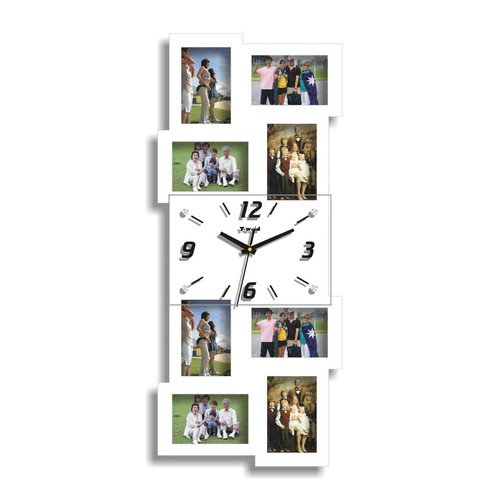 8067e16c1edc Creative Motion Picture Frame Wall Clock - Walmart.com