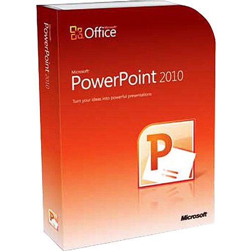 Microsoft PowerPoint 2010 for Windows