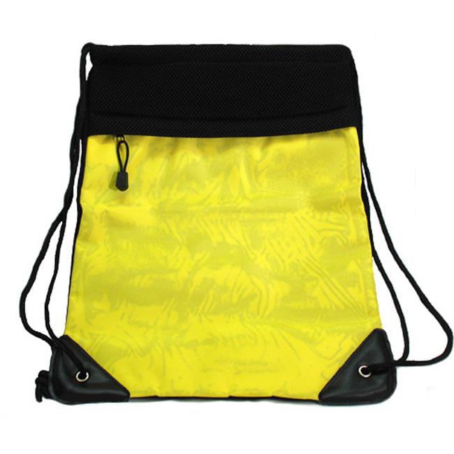 DDI 1193863 Mesh Drawstring Backpack- Yellow Case Of 2