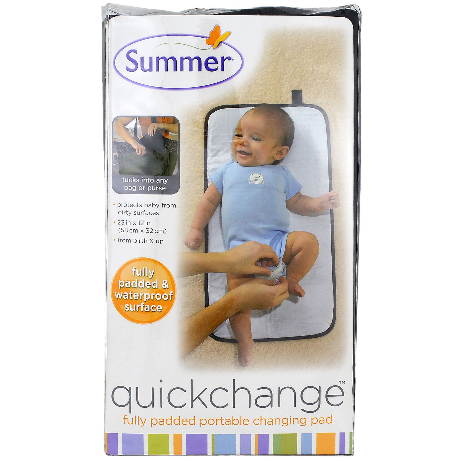 Summer Infant, Quickchange, Fully Padded Portable Changing Pad, 1 Piece(pack of 1)
