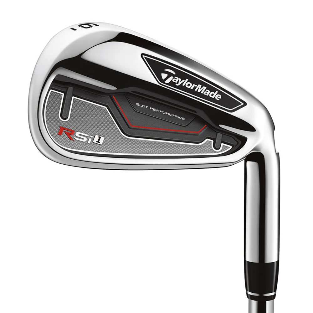 NEW TaylorMade Golf RSi1 Irons - Choose Set Composition, Flex & Shaft