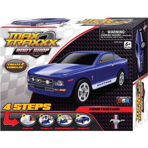 Skullduggery Max Traxxx Body Shop Mustang Casting Kit