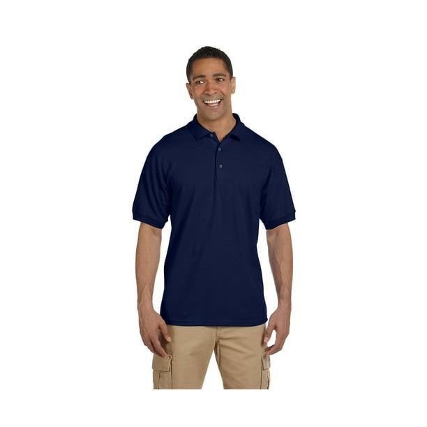 Gildan Men's Welt Collar Preshrunk 3-Button Polo Shirt, Style G3800