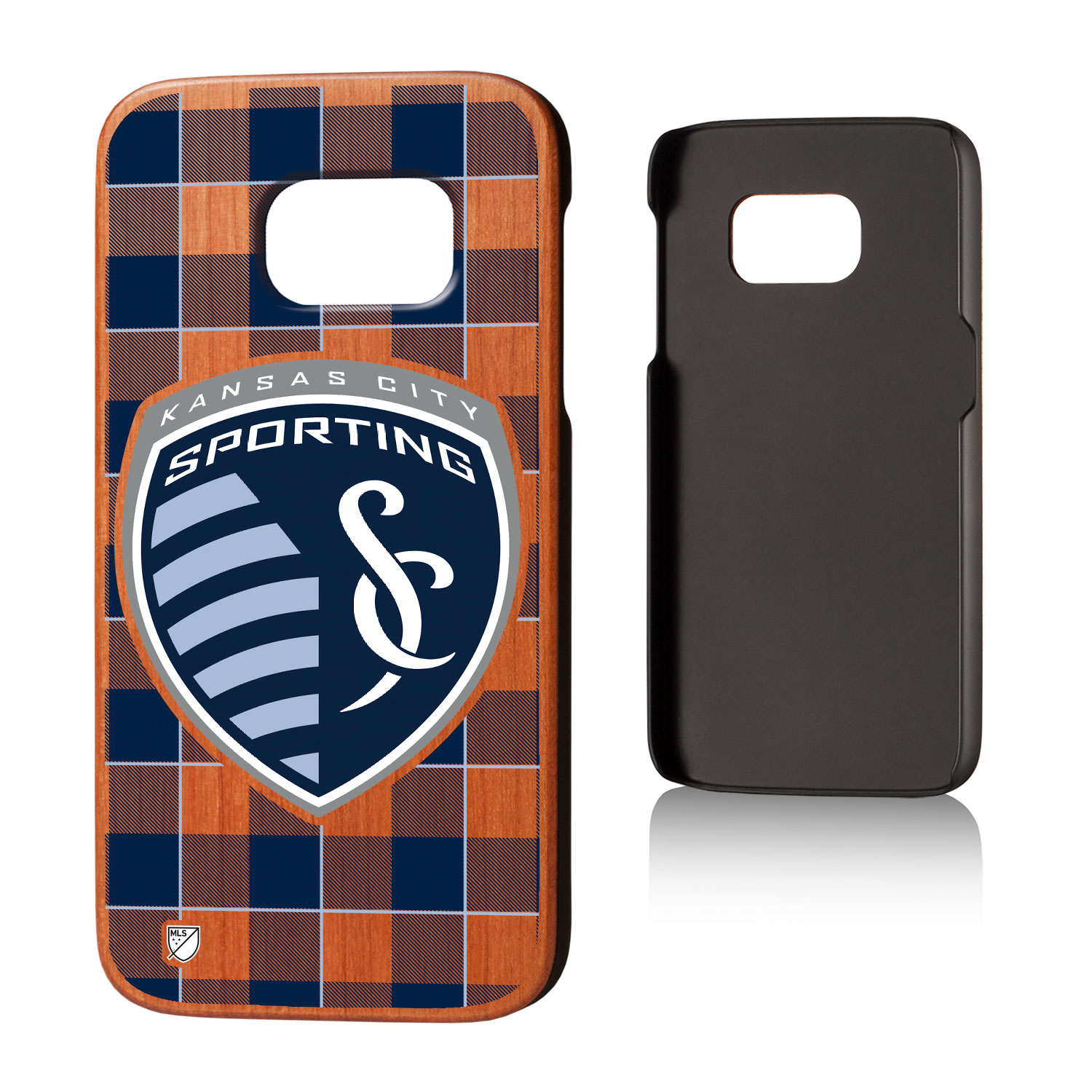 Sporting Kansas City SPORTING Plaid Cherry Case for Galaxy S7