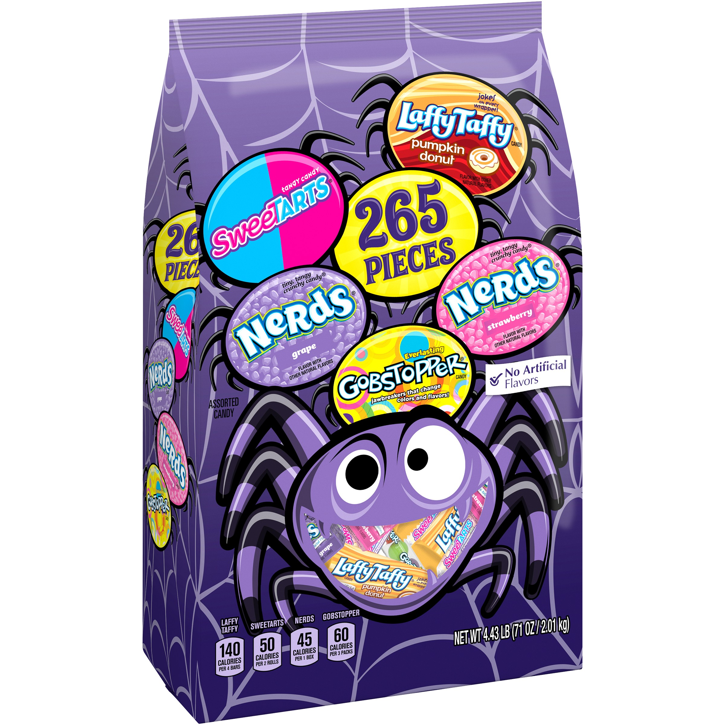 NESTLE Assorted Halloween Candy Sugar 265 pieces, 71 oz Bag