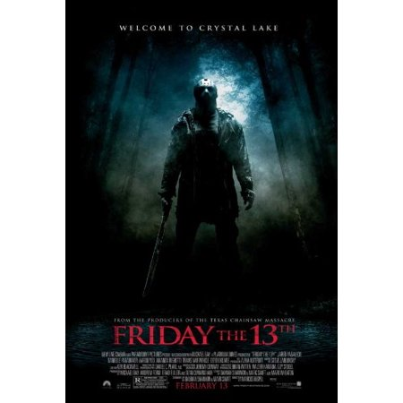 friday the 13th 11 x 17 movie poster style c friday the 13th 11 x
