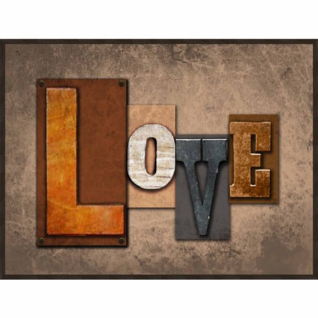 love wall art. Black Bedroom Furniture Sets. Home Design Ideas