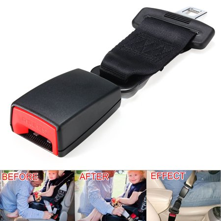 9 Inches Universal Car Vehicle Seat Belt Strap Extender Extension Buckle SUV Van Truck E11 Safety (Car Seat Belt Buckle)