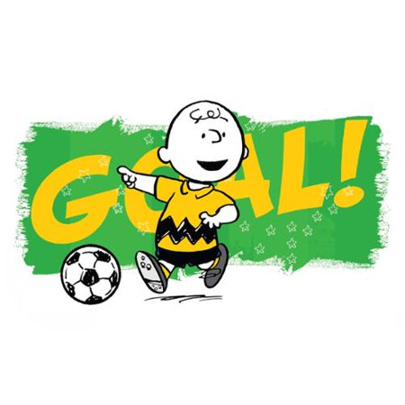 Marmont Hill Inc Marmont Hill   Goal  Peanuts Print On Canvas