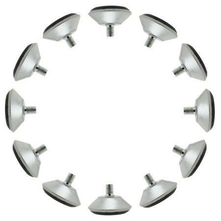 M8 x 11 x 40cm Leveling Feet Adjustable Leveler for Furniture Machine Leg 10pcs - image 7 of 7