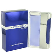 Paco Rabanne Ultraviolet Eau de Toilette, Cologne for Men, 3.4 Oz
