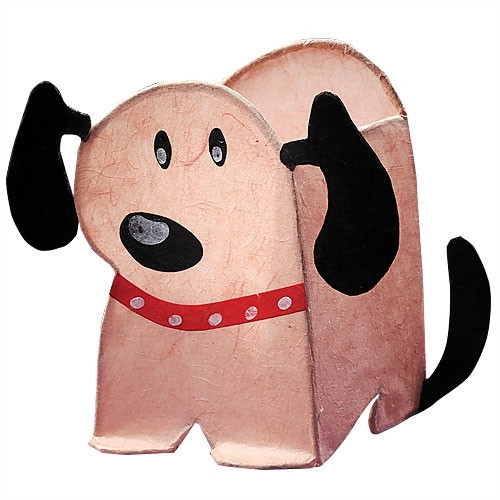 LumiSource Petey the Puppy Night Time Pals 8'' H Table Lamp with Novelty Shape