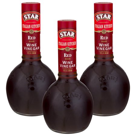 - (3 Pack) Star Italian Kitchen Red Wine Vinegar, 12 fl oz