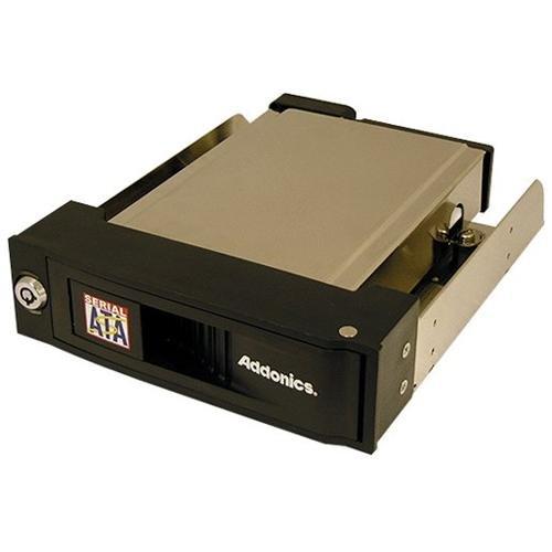 Addonics Aesnapmrsa Snap-in Sata Mobile Rack - Storage En...