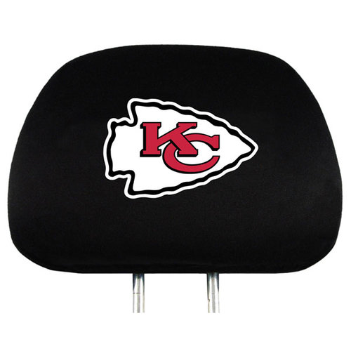 NFL - Kansas City Chiefs NFL Headrest Covers (2 Pack) Covers