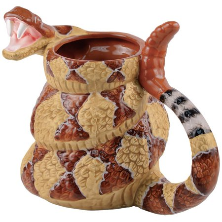 Rattlesnake Coffee Mug Cup - The Late Late Show with Craig Ferguson - (The Late Late Show With Craig Ferguson Episodes)