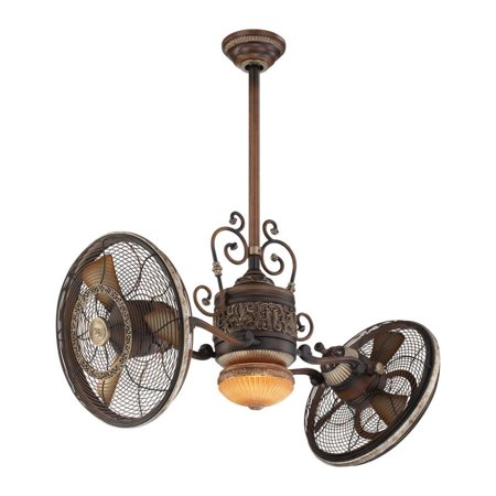 Minka Aire F502-BCW 42-in Tradtional Gyro Ceiling Fan