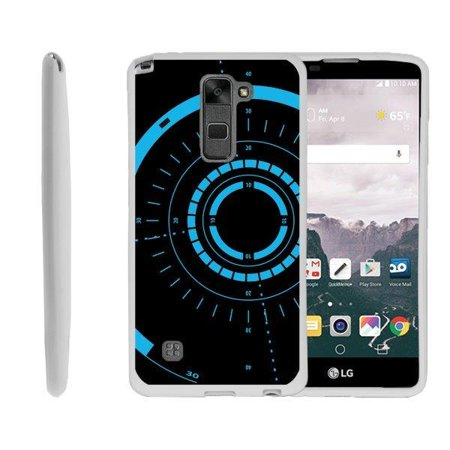 promo code 87ff9 953af TurtleArmor ® | For LG Stylus 2 | LG G Stylo 2 | LG Stylo 2 V[Flexible  Case] Slim Fitted TPU Case - Blue Tron Target