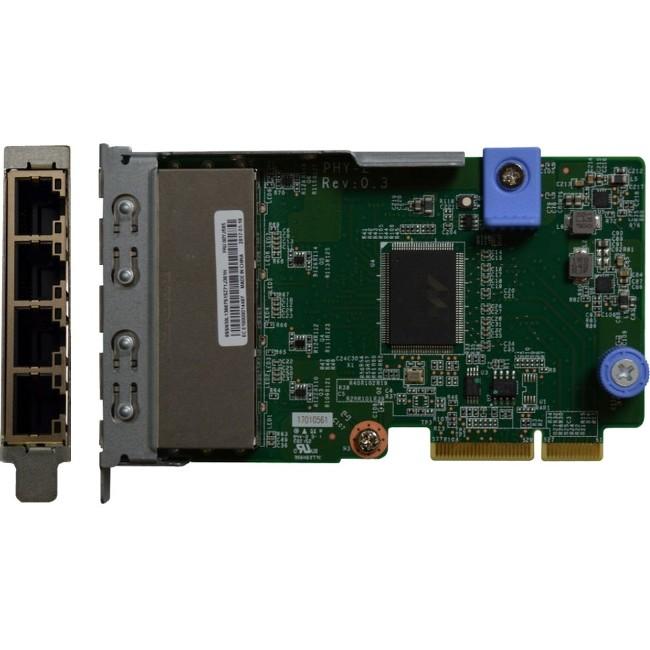 Lenovo ThinkSystem 1Gb 4-Port RJ45 LOM - PCI - 4 Port(s) - 4 - Twisted Pair