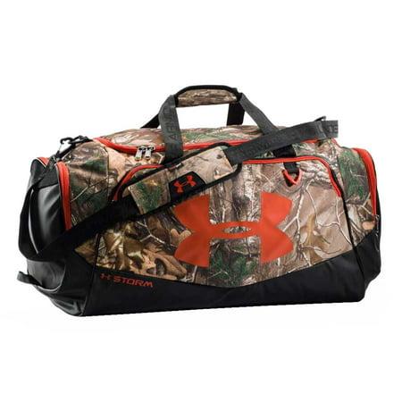 017e8461fee3 Under Armour Undeniable Storm Camo 14 x 29 Duffle Equipment Bag.  1253296-946 - Walmart.com