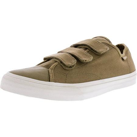 bca8cc4efd Vans - Vans Men s Prison Issue Twill Cornstalk   Blanc De Ankle-High Canvas  Skateboarding Shoe - 11M - Walmart.com