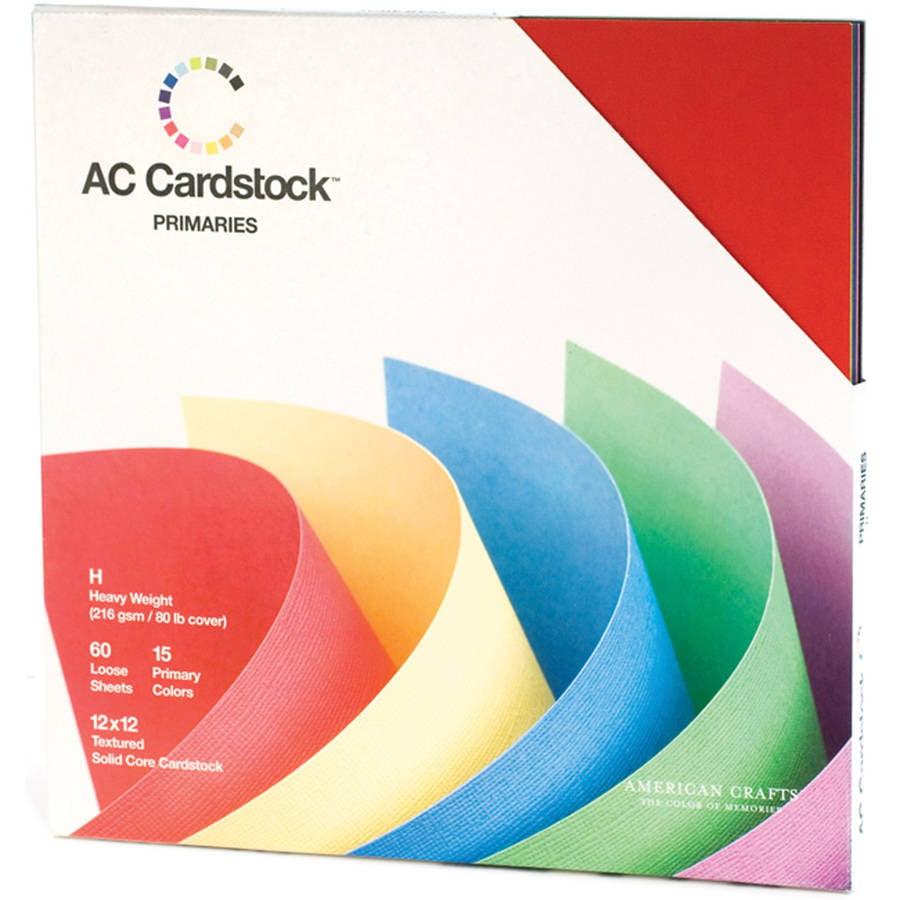 "Download American Crafts 12"" x 12"" Cardstock Pack - Walmart.com"