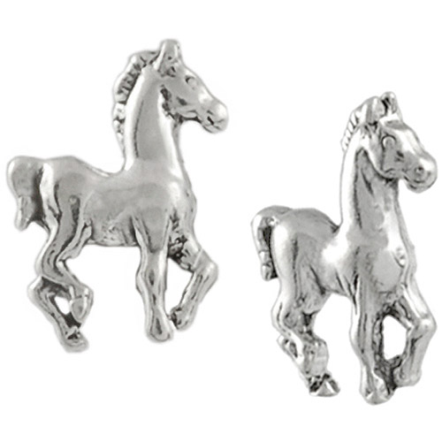 Brinley Co. Prancing Sterling Silver Stud Earrings
