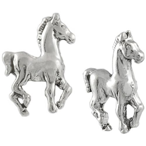 Brinley Co. Prancing Sterling Silver Stud Earrings