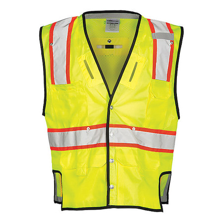Ml Kishigo Fall Protection Vest, Lime T341-S-M