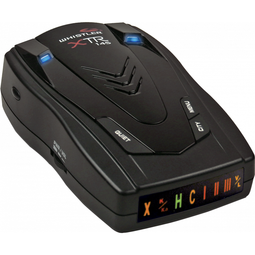 Whistler XTR-145 Laser and Radar Detector with Icon Display