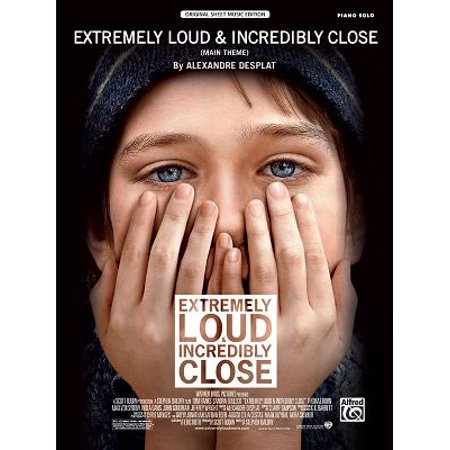 Extremely Loud & Incredibly Close (Main Theme) : Piano Solo, Sheet - Halloween Theme Sheet Music For Piano