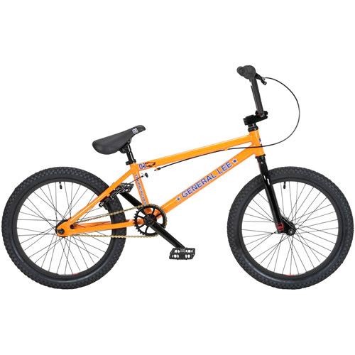 "20"" DK General Lee BMX Bike, Orange/Black"