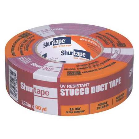 Duct Tape,48mm x 55m,9 mil,Red SHURTAPE PC 667