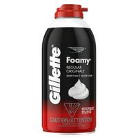 (2 Pack) Gillette Foamy Regular Shaving Foam, 11 oz