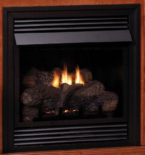 "Vent-Free 24"" NG Millivolt Control Fireplace"