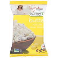 Simply 7 Butter Popcorn, 4.4 Oz, Pack Of 12