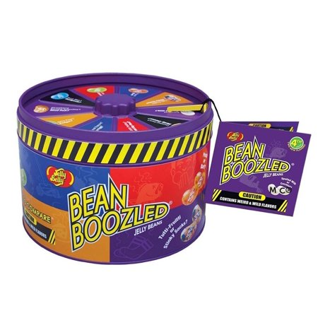 Jelly Belly BeanBoozled Spinner Tin Jelly Bean (4th edition) - Bean Boozeled