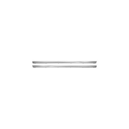 Eckler's Premier  Products 50-204895 Chevelle Malibu Rocker Panel Molding, 2-Door Except Wagon, Left,
