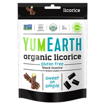 Gummy Candies: YumEarth Licorice
