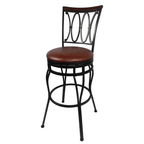 Better Homes & Gardens Adjustable Bar Stool, Oil Rubbed Bronze by Cheyenne Products