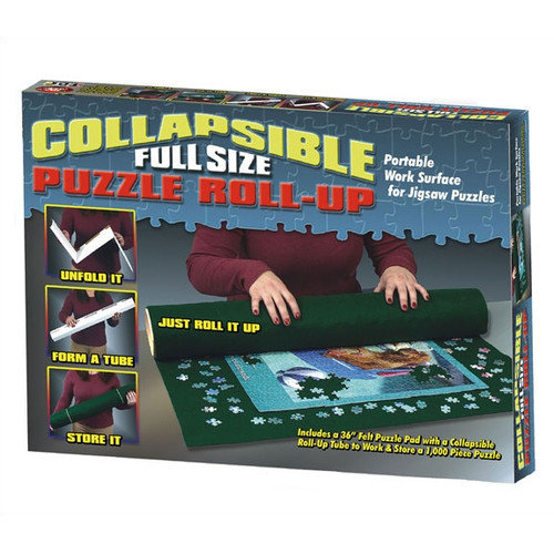 TDC Games Collapsible Puzzle Surface Portable Roll-Up